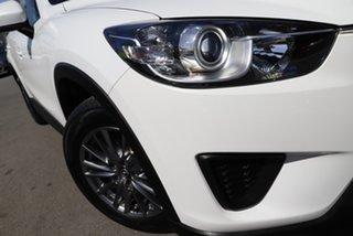 2013 Mazda CX-5 KE1071 Maxx SKYACTIV-Drive Sport Crystal White Pearl 6 Speed Sports Automatic Wagon.