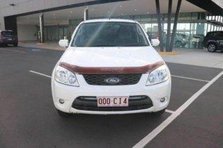 2010 Ford Escape ZD MY10 Diamond White 4 Speed Automatic SUV.