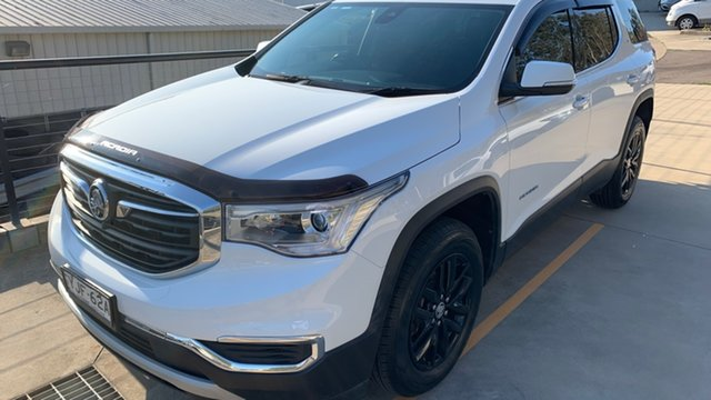 Used Holden Acadia AC MY19 LT 2WD Maitland, 2018 Holden Acadia AC MY19 LT 2WD White 9 Speed Sports Automatic Wagon