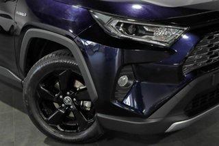 2020 Toyota RAV4 Axah54R Cruiser eFour Blue 6 Speed Constant Variable Wagon Hybrid.