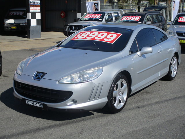 Used Peugeot 407 Coffs Harbour, 2006 Peugeot 407 Silver 6 Speed Tiptronic Coupe