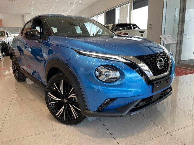 New Nissan Juke F16 TI Essendon Fields, 2021 Nissan Juke F16 TI Vivid Blue 7 Speed Auto Dual Clutch Hatchback