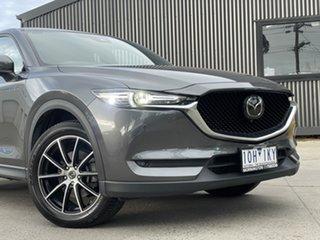 2018 Mazda CX-5 KF4WLA Akera SKYACTIV-Drive i-ACTIV AWD 46g 6 Speed Sports Automatic Wagon.