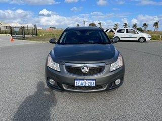 2012 Holden Cruze JH MY12 CDX Grey 6 Speed Automatic Sedan.
