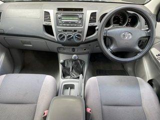 2008 Toyota Hilux KUN26R MY09 SR5 Black 5 Speed Manual Utility
