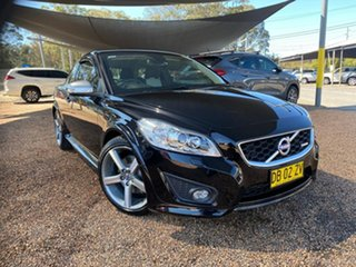 2012 Volvo C30 M Series MY12 T5 Geartronic R-Design Black 5 Speed Sports Automatic Hatchback.
