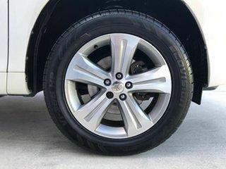 2008 Toyota Kluger GSU40R KX-S 2WD White 5 Speed Sports Automatic Wagon