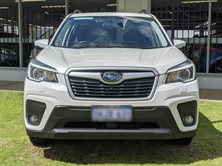 2019 Subaru Forester S5 MY20 2.5i-L CVT AWD White 7 Speed Constant Variable Wagon.