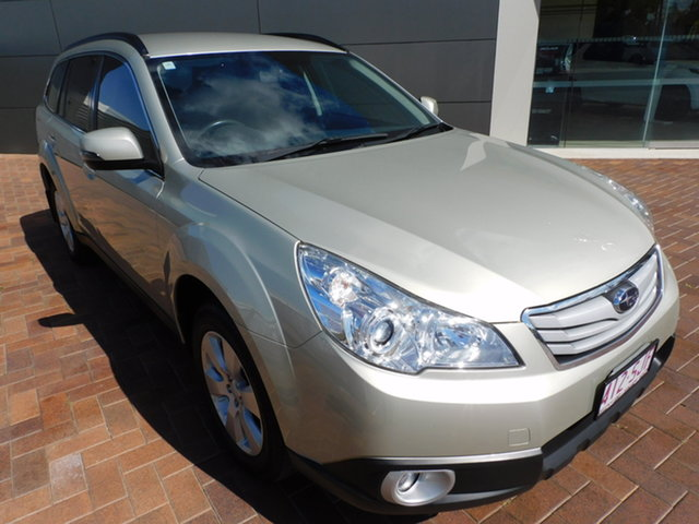 Used Subaru Outback B5A MY12 2.5i Lineartronic AWD Toowoomba, 2012 Subaru Outback B5A MY12 2.5i Lineartronic AWD Sunlight Gold D6h 6 Speed Constant Variable Wagon