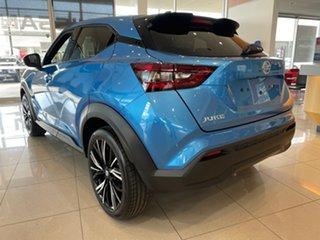 2021 Nissan Juke F16 TI Vivid Blue 7 Speed Auto Dual Clutch Hatchback