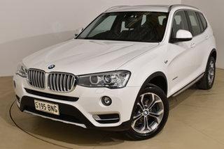 2015 BMW X3 F25 LCI MY0414 xDrive20d Steptronic White 8 Speed Automatic Wagon.