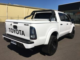 2014 Toyota Hilux KUN26R Black Limited Edition White Automatic