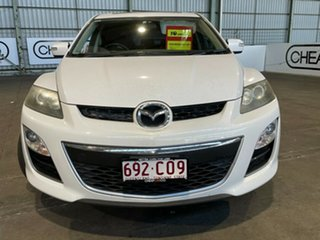 2010 Mazda CX-7 ER1032 Luxury Activematic Sports White 6 Speed Automatic Wagon.