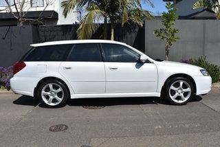 2003 Subaru Liberty B4 MY04 D/Range AWD Pearl White 5 Speed Manual Wagon