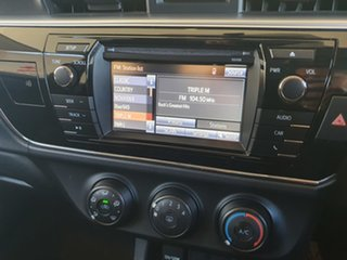 2014 Toyota Corolla ZRE172R Ascent S-CVT Grey 7 Speed Constant Variable Sedan