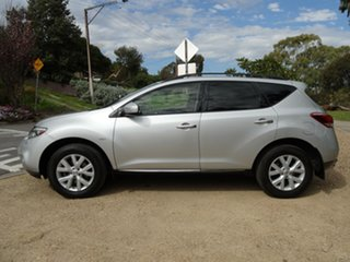 2012 Nissan Murano Z51 Series 3 ST Brilliant Silver 6 Speed Constant Variable Wagon