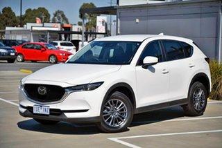 2019 Mazda CX-5 KF4WLA Touring SKYACTIV-Drive i-ACTIV AWD White 6 Speed Sports Automatic Wagon.