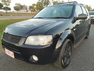 2005 Ford Territory SX TX Black 4 Speed Sports Automatic Wagon.