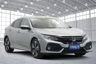 2017 Honda Civic 10th Gen MY17 VTi-LX Grey 1 Speed Constant Variable Hatchback.
