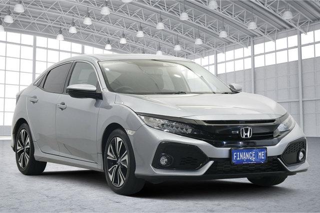Used Honda Civic 10th Gen MY17 VTi-LX Victoria Park, 2017 Honda Civic 10th Gen MY17 VTi-LX Grey 1 Speed Constant Variable Hatchback