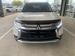 2017 Mitsubishi Outlander ZK MY18 LS AWD Safety Pack White 6 Speed Sports Automatic Wagon.