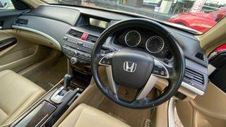 2009 Honda Accord 8th Gen VTi-L White 5 Speed Sports Automatic Sedan