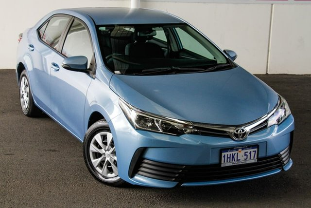 Pre-Owned Toyota Corolla ZRE172R Ascent S-CVT Myaree, 2019 Toyota Corolla ZRE172R Ascent S-CVT Blue Mist 7 Speed Constant Variable Sedan