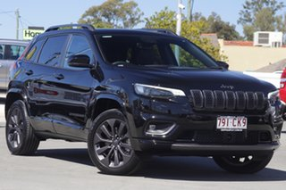 2020 Jeep Cherokee KL MY21 S-Limited Black 9 Speed Sports Automatic Wagon.
