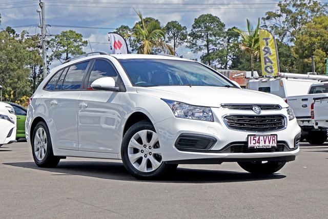 Used Holden Cruze JH Series II MY15 CD Sportwagon Chandler, 2015 Holden Cruze JH Series II MY15 CD Sportwagon White 6 Speed Sports Automatic Wagon