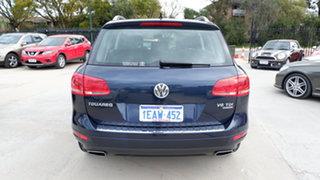 2012 Volkswagen Touareg 7P MY12.5 V6 TDI Tiptronic 4MOTION Blue 8 Speed Sports Automatic Wagon