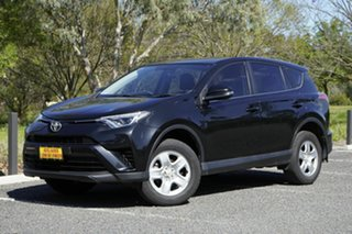2016 Toyota RAV4 ZSA42R GX 2WD Black 7 Speed Constant Variable Wagon.