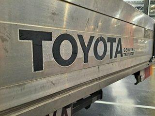 2008 Toyota Hilux TGN16R MY08 Workmate 4x2 Metallic Grey 5 Speed Manual Utility