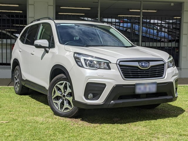 Used Subaru Forester S5 MY20 2.5i-L CVT AWD Victoria Park, 2019 Subaru Forester S5 MY20 2.5i-L CVT AWD White 7 Speed Constant Variable Wagon