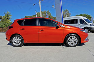 2015 Toyota Corolla ZRE182R Ascent Sport S-CVT Hot Lava O 7 Speed Constant Variable Hatchback