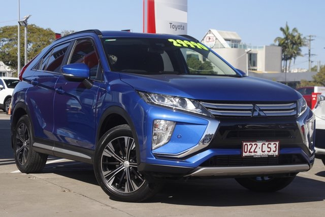 Pre-Owned Mitsubishi Eclipse Cross YA MY19 LS 2WD Albion, 2019 Mitsubishi Eclipse Cross YA MY19 LS 2WD Blue 8 Speed Constant Variable Wagon