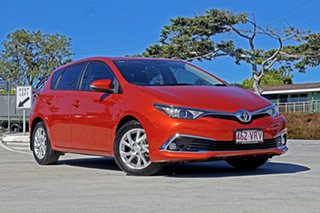 2015 Toyota Corolla ZRE182R Ascent Sport S-CVT Hot Lava O 7 Speed Constant Variable Hatchback.