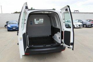 2015 Volkswagen Caddy 2KN MY16 TSI220 SWB DSG White 7 Speed Sports Automatic Dual Clutch Van.