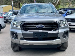 2020 Ford Ranger PX MkIII 2020.25MY Wildtrak Silver 6 Speed Sports Automatic Double Cab Pick Up.
