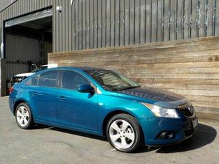 2012 Holden Cruze JH Series II MY12 Equipe Blue 6 Speed Sports Automatic Sedan.