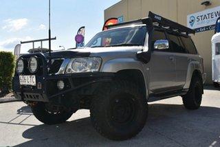 2006 Nissan Patrol GU IV ST (4x4) Silver 4 Speed Automatic Wagon
