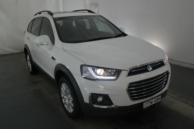 Used Holden Captiva CG MY16 Active 2WD Maryville, 2016 Holden Captiva CG MY16 Active 2WD White 6 Speed Sports Automatic Wagon