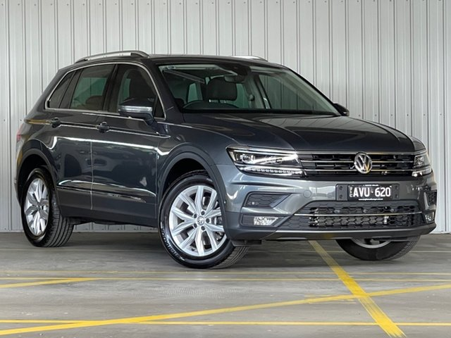 Used Volkswagen Tiguan 5N MY18 162TSI DSG 4MOTION Highline Moorabbin, 2018 Volkswagen Tiguan 5N MY18 162TSI DSG 4MOTION Highline Grey 7 Speed Sports Automatic Dual Clutch