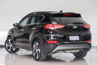 2016 Hyundai Tucson TLE Highlander D-CT AWD Black 7 Speed Sports Automatic Dual Clutch Wagon.