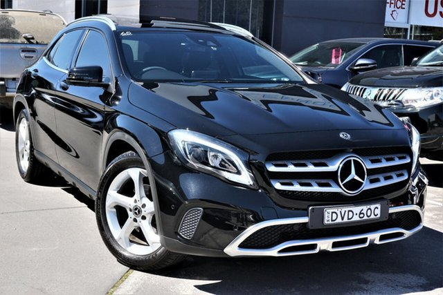 Used Mercedes-Benz GLA-Class X156 807MY GLA220 d DCT Phillip, 2017 Mercedes-Benz GLA-Class X156 807MY GLA220 d DCT Black 7 Speed Sports Automatic Dual Clutch