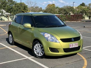 2012 Suzuki Swift FZ GL Green 5 Speed Manual Hatchback.