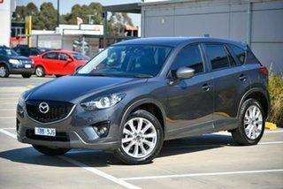 2014 Mazda CX-5 KE1031 MY14 Grand Touring SKYACTIV-Drive AWD Grey 6 Speed Sports Automatic Wagon.