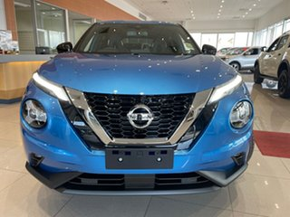 2021 Nissan Juke F16 TI Vivid Blue 7 Speed Auto Dual Clutch Hatchback.