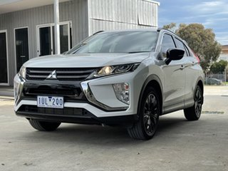 2019 Mitsubishi Eclipse Cross YA MY19 Black Edition 2WD White 8 Speed Constant Variable Wagon