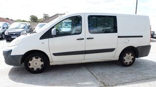 2010 Fiat Scudo Comfort Low Roof LWB White 6 Speed Manual Van