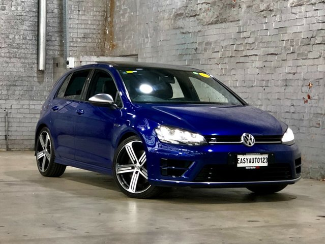 Used Volkswagen Golf VII MY16 R DSG 4MOTION Mile End South, 2016 Volkswagen Golf VII MY16 R DSG 4MOTION Blue 6 Speed Sports Automatic Dual Clutch Hatchback